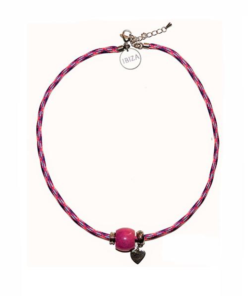 Gargantilla Summer Violet Pink
