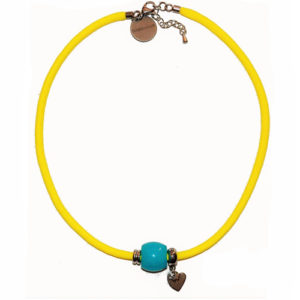 Gargantilla Summer Yellow Blue