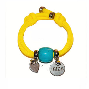 Pulsera Ibiza Summer Yellow Blue