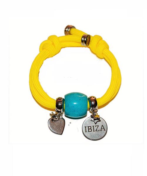 Pulsera Ibiza Summer Yellow Blue