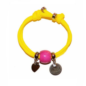 Pulsera Ibiza Summer Yellow Pink