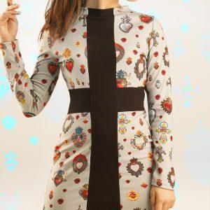 Vestido cruz